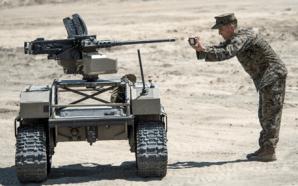 War Technology Hits Red Beach at Camp Pendleton