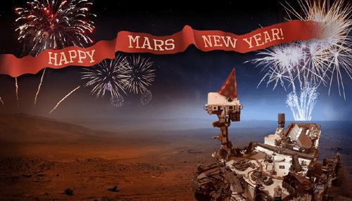 Happy New Year, Mars! : NASA Jet Propulsion Laboratory