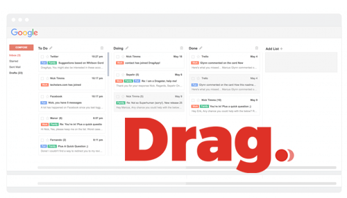 How to finally organize your messy inbox with Drag