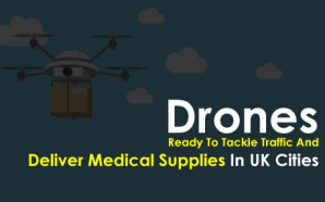 Drones Ready To Tackle Traffic And Deliver Medical Supplies In…