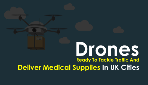 Drones Ready To Tackle Traffic And Deliver Medical Supplies In UK Cities