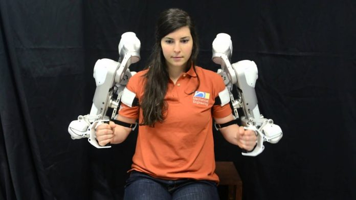 Spine damage patients could learn from the robotic Skeletons, how to move once more