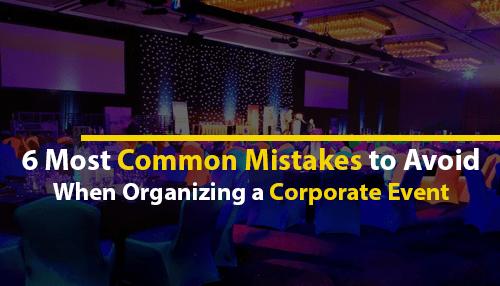 Organizing Corporate Event