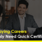 High-Paying Careers That Only Need Quick Certifications