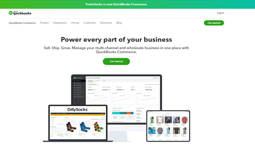 TradeGecko inventory management software