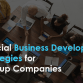 Crucial Business Development Strategies for Startup Companies