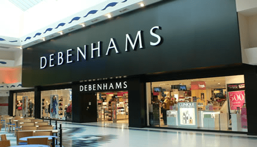 Debenhams is the best department stores in the United Kingdom