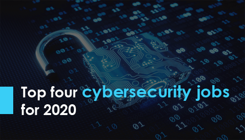 Top four cybersecurity jobs for 2020