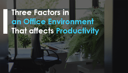 Three Factors in an Office Environment That affects Productivity