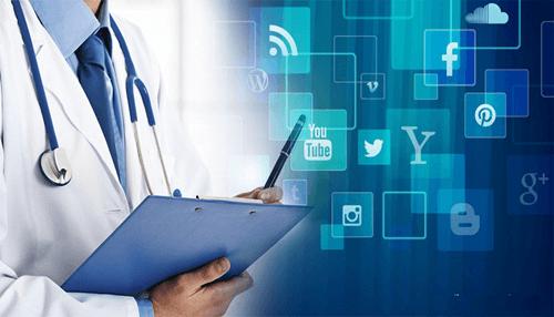 social media healthcare services