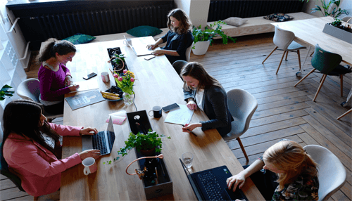What are the benefits of coworking spaces