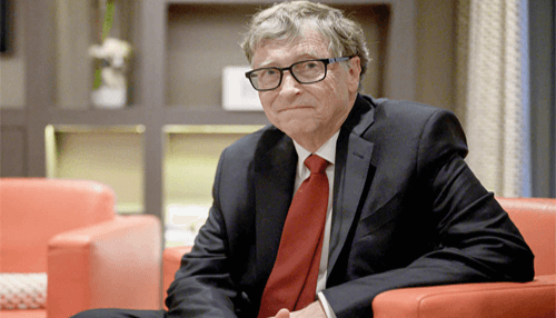 Bill Gates is a successful and famous entrepreneur