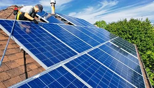 Solar panel installation business
