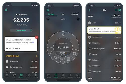 PocketGuard expense tracking app