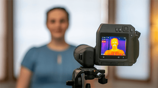 What are thermal temperature scanners