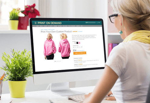 how to start print on demand business