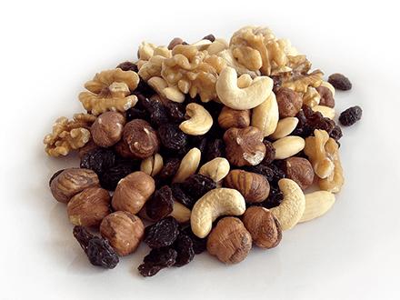 Nuts should be buy in bulk.