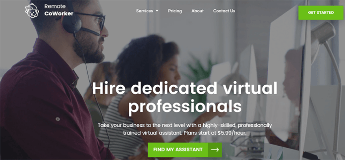 Remote CoWorker virtual staffing company
