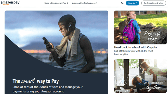 Amazon Pay Popular online payment platform
