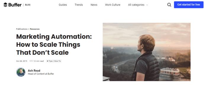 Buffer Automation tool