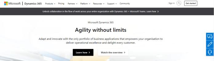 Microsoft Dynamics ERP Microsoft business applications