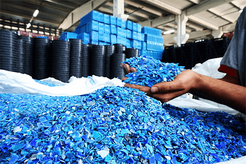 Using Plastic Waste as a Raw Material