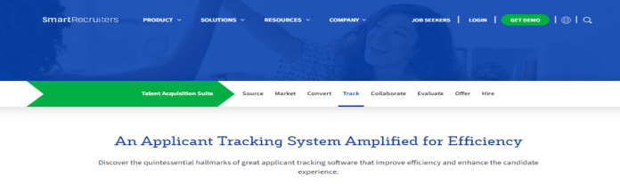 Best Applicant Tracking Systems Smartrecruiters