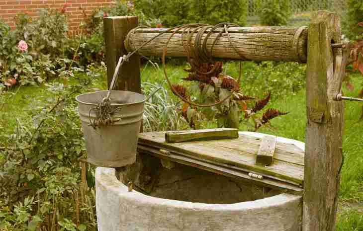 old rotten water well in sumer garden, rural scenery | Reasons to Love Tyent Water Ionizers, Part 9: Tyent Alkaline Water Is The Healthiest Water In The World. Dare To Compare!