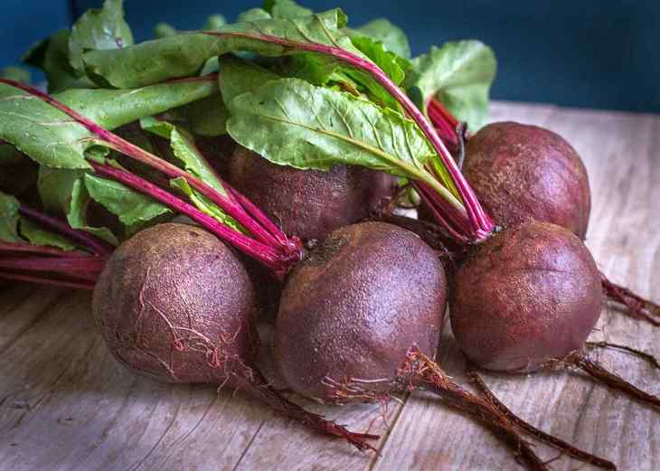 Beet on a table   High Alkaline Foods To Add To Your Diet