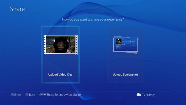 PS4 Media Functions