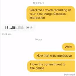 The woman was particularly impressed at number four (Credit: TikTok)