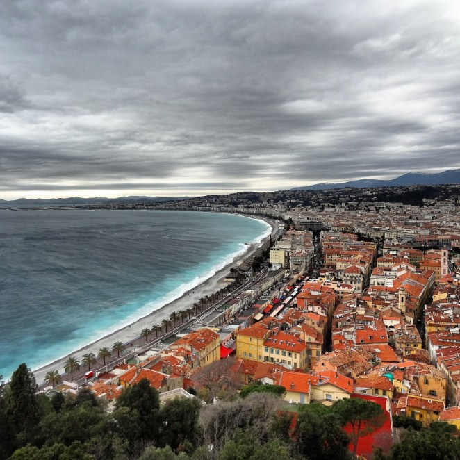 Cote d'azur (French Riviera), Nice, France