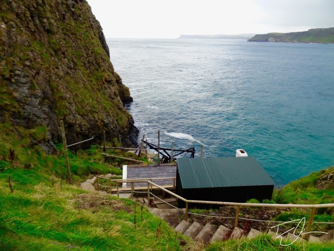 Lobster outpost in Carrick-a-Rede, Northern Ireland