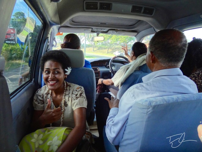 Since not many Fijians own their own vehicle. There are various forms of public transport.