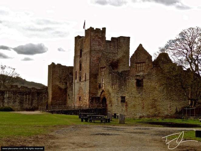 Ludlow Castle in England