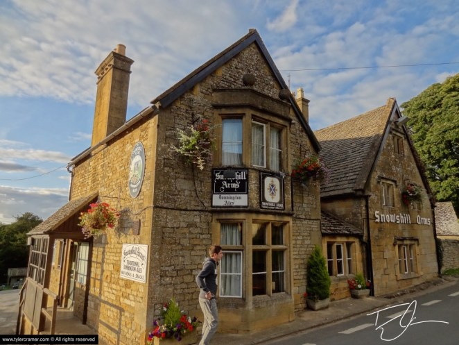 Snowshoe Arms in the Cotswolds, England