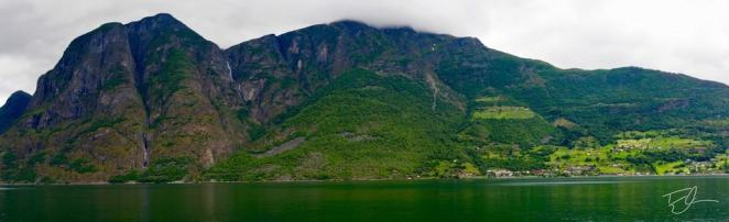 Fjord Panoramic Norway Scandinavia