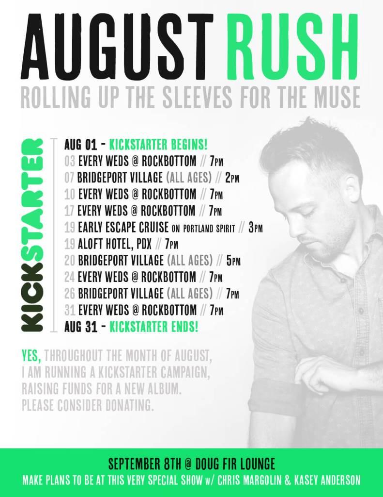 Tyler Stenson August Rush 2016