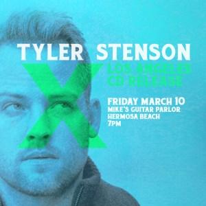 Tyler Stenson Los Angeles Album Release
