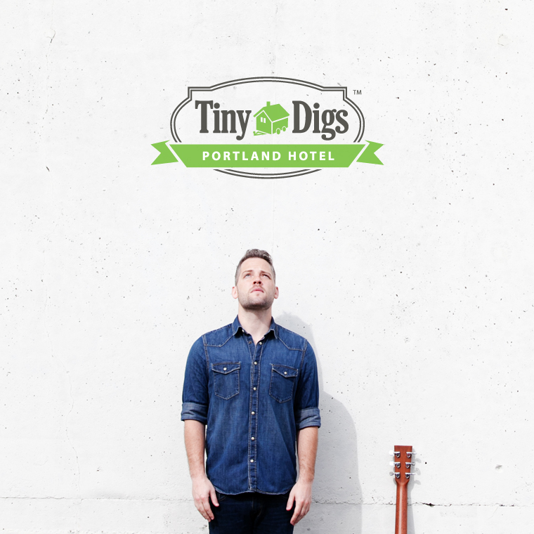 Tyler Stenson at Tiny Digs Hotel