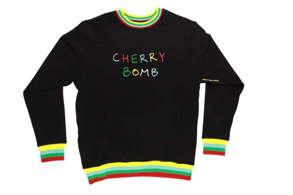 CHERRY BOMB Golf Flower Le Fleur Tyler The Creator Sweatshirt