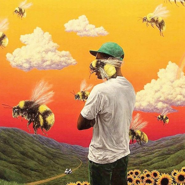 Rapper Singer Tyler The Creator Portrait Painting Posters