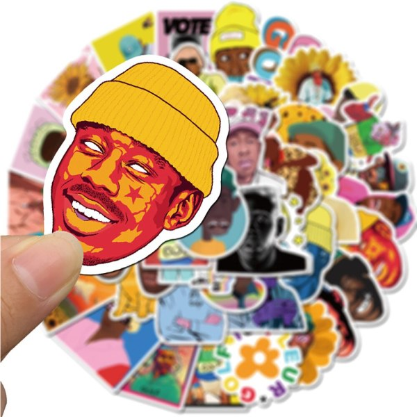 50PCS Rapper Tyler The Creator Stickers