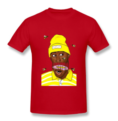 tyler the creator bee art shirt 2