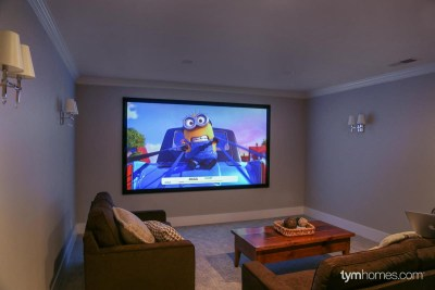 Home Theater - Boise Parade of Homes