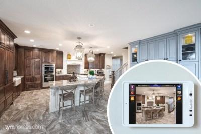 Savant Home Automation iPad app - Salt Lake Parade of Homes