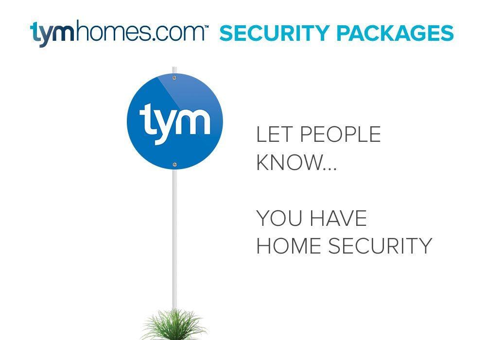 Home Security, Yard Sign, Salt Lake City
