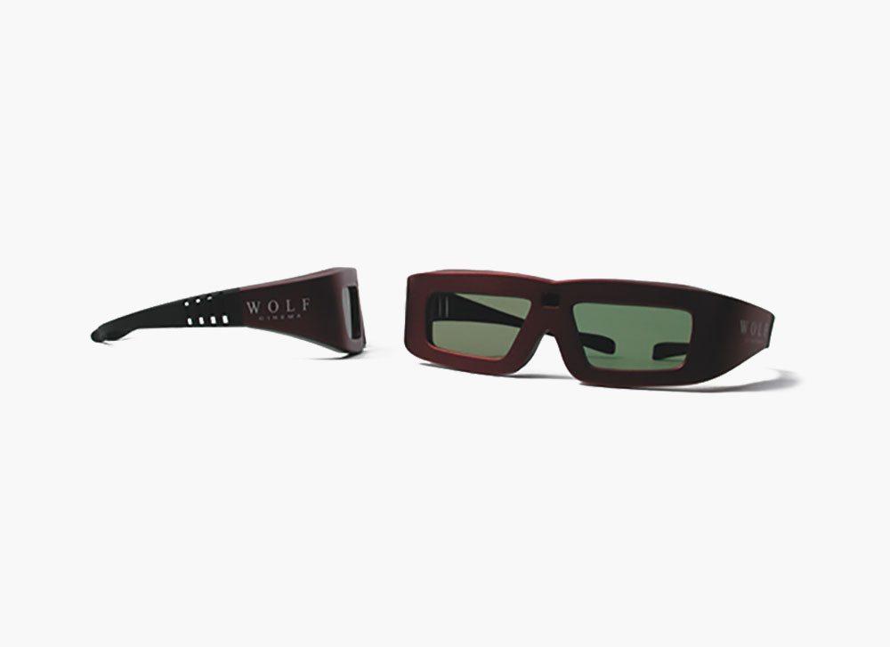 Wolf Cinema 3D Glasses