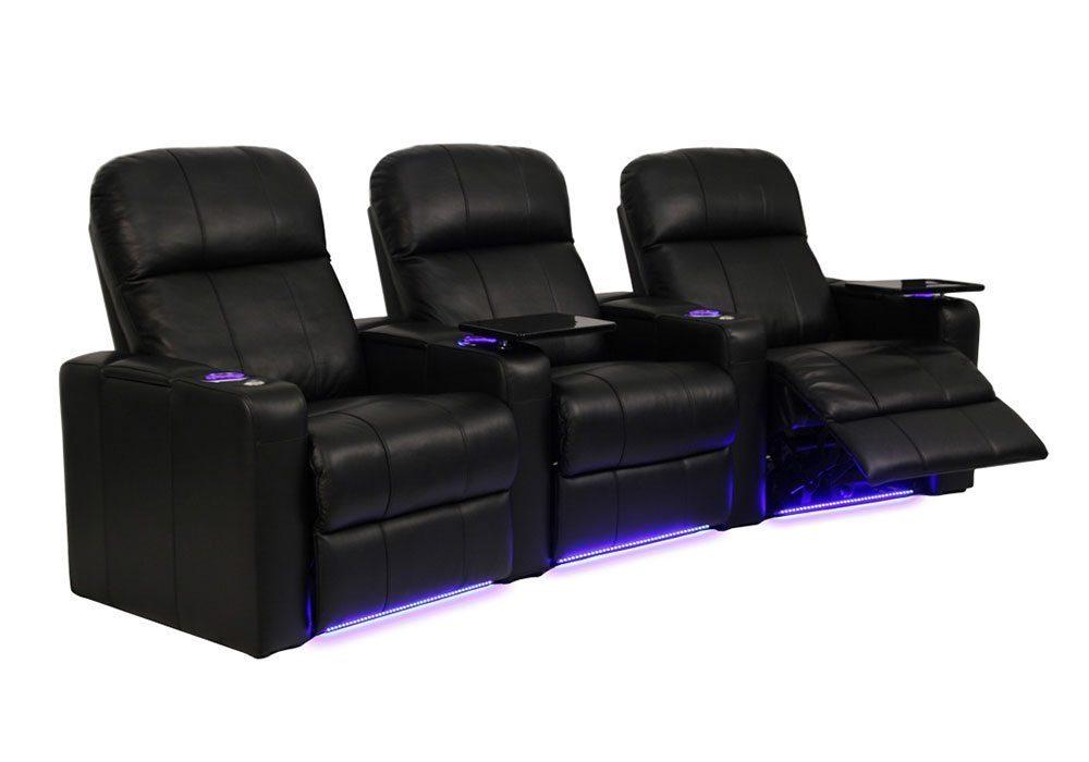 Seatcraft Home Theater Seating, Salt Lake City, Utah  |  Seatcraft 'Venetian 7000'