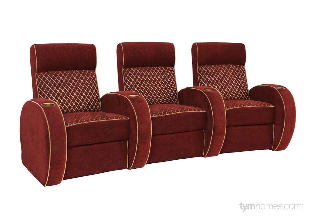Seatcraft Home Theater Seating, Salt Lake City, Utah | Seatcraft 'Pharaoh'